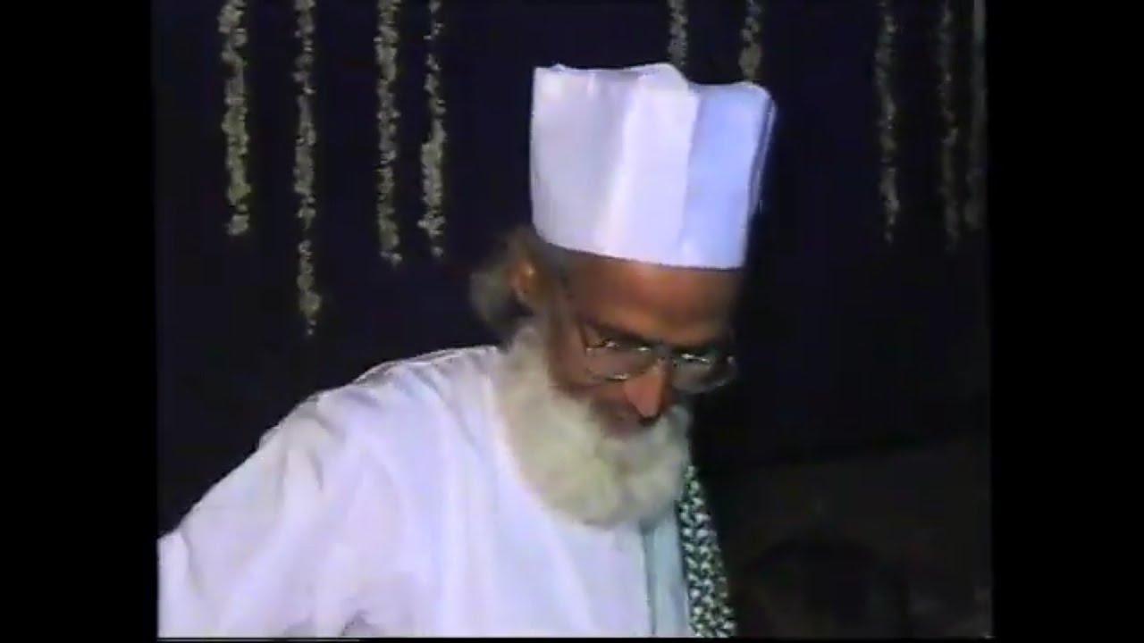 Mahfil-e-Samaa Urs Mubarak Hujoor Kibla Ruhi Fida Saiyydna Amir Abulula R.A., Bikaner, 2004