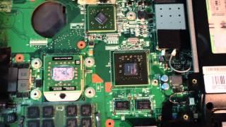 Fujitsu Siemens Amilo Pa 2548 | Graphic Card Problem (part 2)