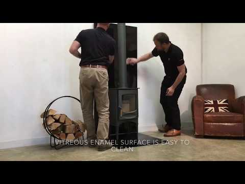 VLAZE Heat Shield and Hearth Plate installation