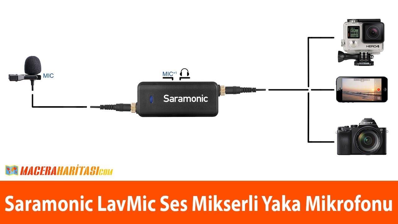 Tüm cihazlarla uyumlu mikrofon! Saramonic LavMic incelemesi