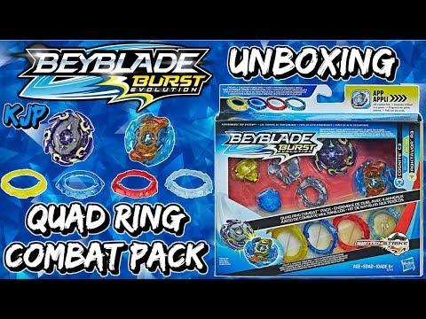 Quad Ring Combat Pack (Unboxing, QR Codes, Review, & Battles!)
