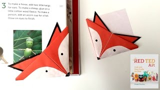 Fox Crafts - Easy Origami Bookmark
