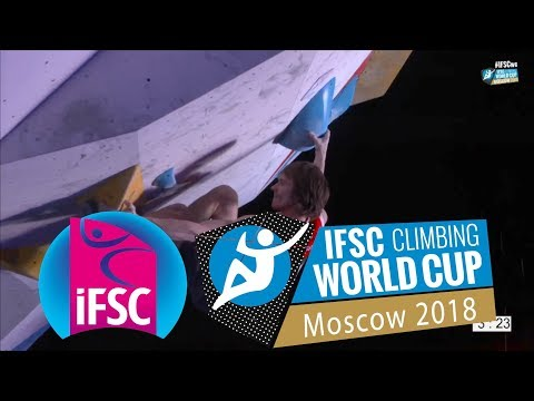 IFSC Boulder Worldcup 2018 // Moscow Men Final Report
