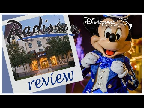 Radisson Blu Hotel BREAKFAST & ROOM REVIEW  Disneyland Paris