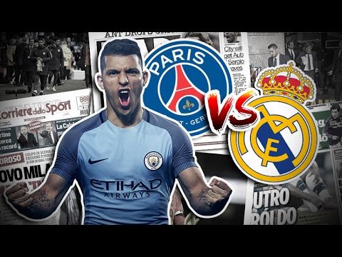 Duel PSG - Real Madrid pour Sergio Agüero | Revue de presse