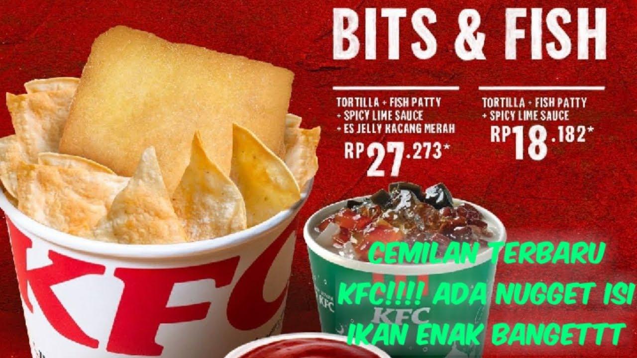 MENU TERBARU KFC,ADA NUGGET RASA IKAN ENAK..TAPI KOK ...