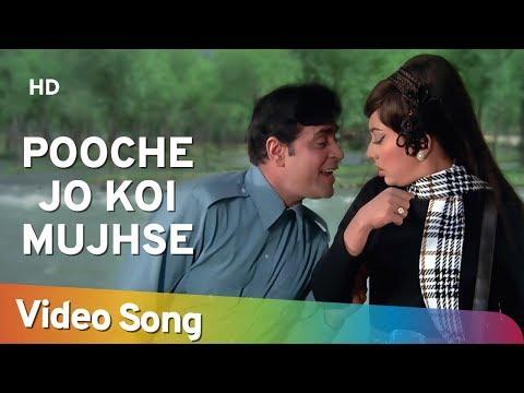 Pooche Jo Koi Mujhse HD  Aap Aye Bahaar Ayee Songs  Rajendra Kumar  Sadhana  Old Song