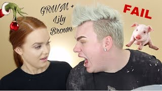 GET READY WITH ME + LILY! (we're so immature bye)