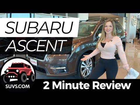2020 Subaru Ascent - 2 Minute Review - SUVS.com