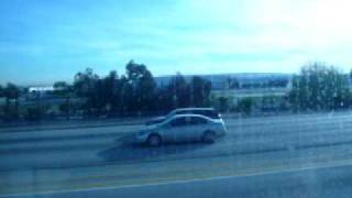 Outrunning the 105 at Crenshaw Boulevard
