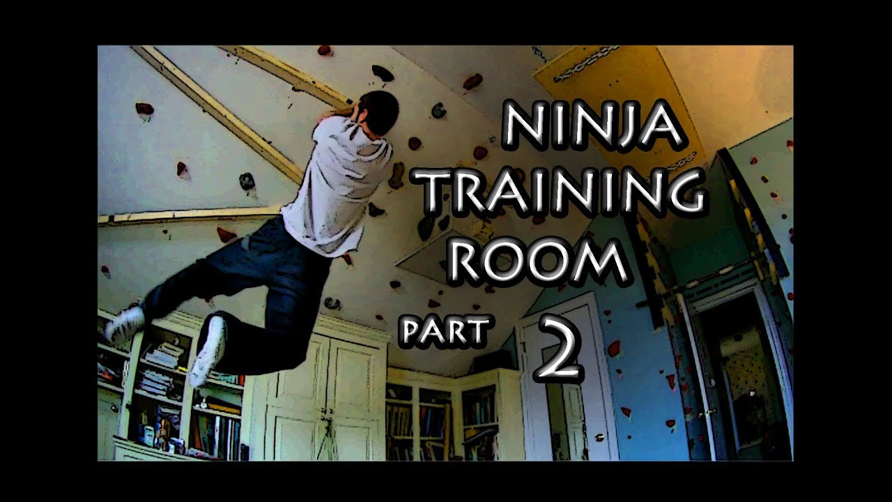 Ninja Warrior Training Room Part 2 Youtube