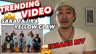Download lagu THIS IS TRENDING! YELLOW CLAW ft. SARA FAJIRA - DRXGS (Official Music Video) | New Yorker REACTION