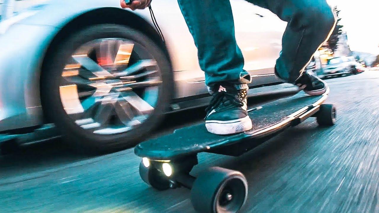 BEST HUB MOTOR Electric Skateboard EVER  YouTube