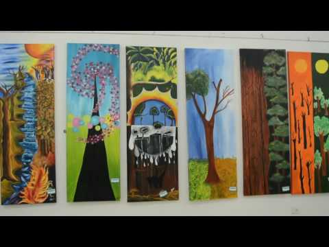 Prithvi - An art exhibition organized by Tint Academy.