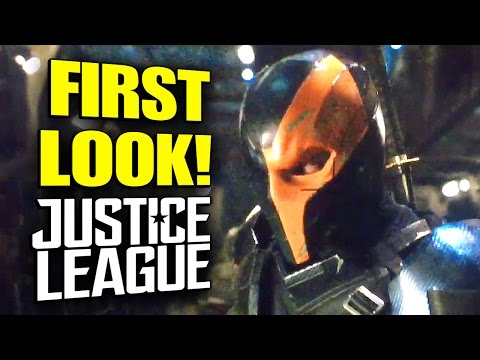 DEATHSTROKE First Look! Justice League 2017