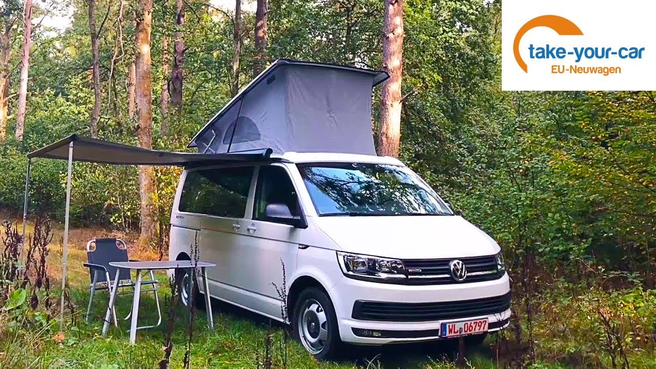 der vw t6 california beach review take your car gmbh youtube. Black Bedroom Furniture Sets. Home Design Ideas