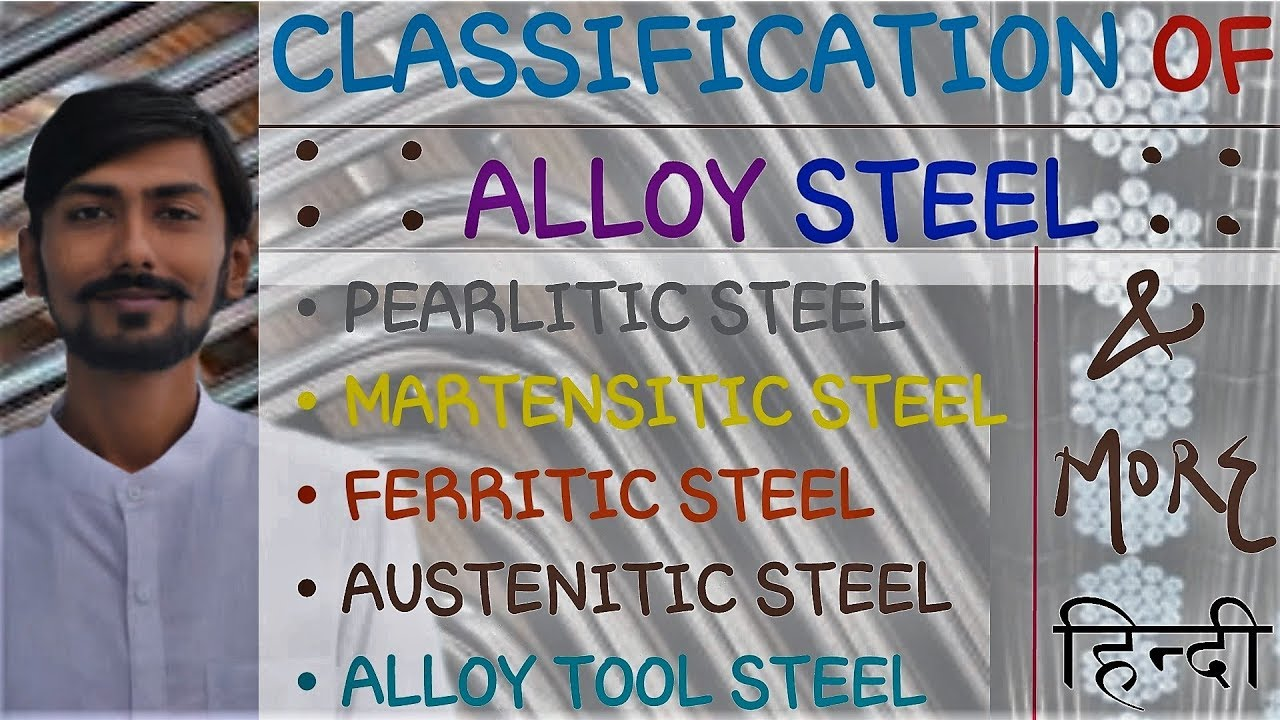 Hindi Alloy Steel Classification Of Alloy Steel Pearlitic Martensitic Alloy Tool Steel Muchmore
