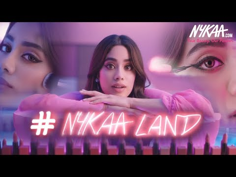 #NykaaLand | Get Lost In The Wonderland Of Makeup Ft. Janhvi Kapoor | Nykaa