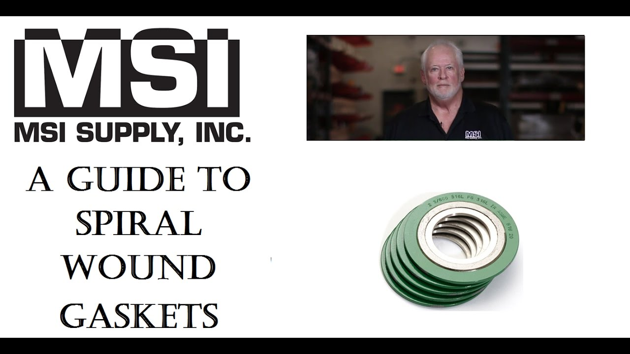 Spiral Wound Gaskets | MSI Supply