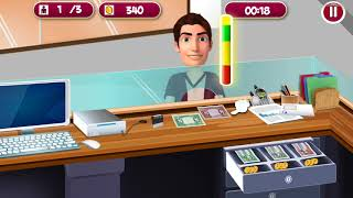 HighSchool Cashier Simulator Account Department Girl Boy Kids Games Android Ios