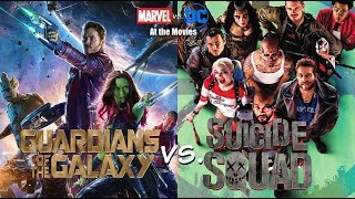 Suicide Squad vs. Guardians of the Galaxy - Marvel vs. DC: At the Movies