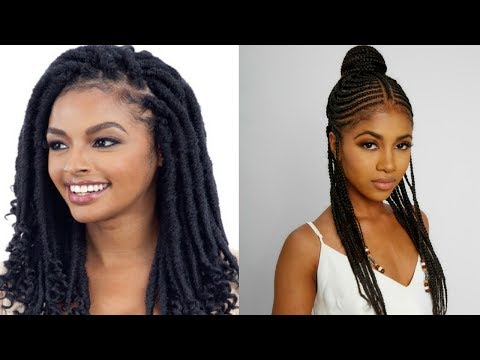 😍2019 Braided Hairstyles For Black Women  Compilation  Hairstyle Ideas #5