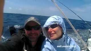 """Обучение яхтнгу - Трансатлантика на Eagle - часть 1 """"Поперек Океана"""""""