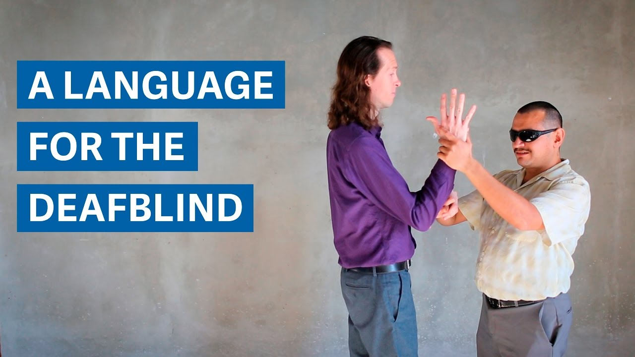 Pro-tactile ASL: A new language for the DeafBlind - YouTube