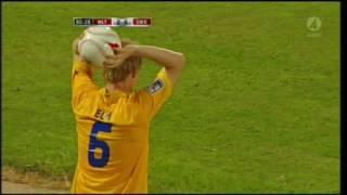 Malta - Sverige 0 - 1 VM-Kval 2008/09