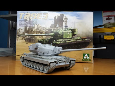 Post-build Review: Takom 2064 T29E3 Super Heavy US Tank