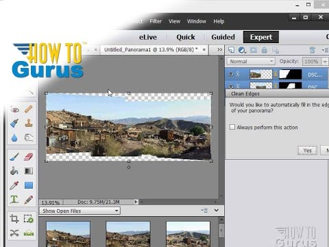 how to make a photomerge panorama in adobe photoshop elements 15 14 rh youtube com Adobe Photoshop Elements 4.0 Windows Adobe Photoshop Elements 4.0 Compatibility