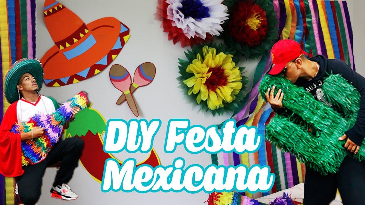 DIY FESTA DE ANIVERSÁRIO MEXICANA  d1a666e2919