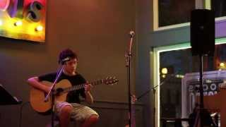 Nate Student Performance - Roots Bistro Open Mic - Instrumental Guitar Piece