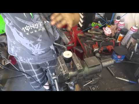 How to ream your delrin bushings