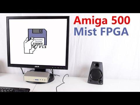 Amiga 500 Mist FPGA Computer Review and Tutorial