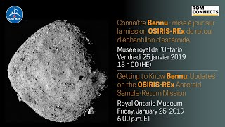 LIVE – Panel discussion about the OSIRIS-REx mission, hosted by Dan Riskin