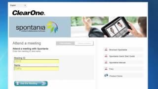 Spontania es una potente herramienta de videoconferencia y media co...