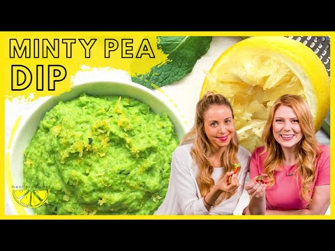 Trio of Dips Part 1: Minty Pea Dip with Lisa Hayim