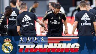 Real Madrid train at Audi Field!