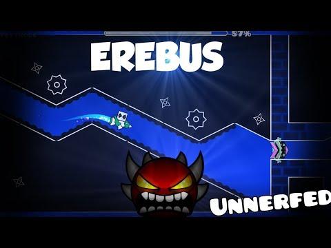 Shitty EREBUS (Unnerfed Gameplay) w/ Start Pos   Geometry Dash