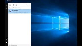 Windows 10 - Benutzername ändern