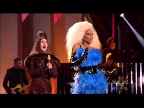 """Lady Gaga - Fashion! (feat. RuPaul) (Live at """"Lady Gaga & the Muppets' Holiday Spectacular"""""""