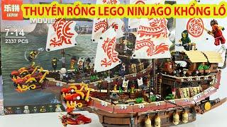 Lắp Ráp Đồ Chơi Lego Ninjago Khủng Nhất Trên Kênh Toy Channel