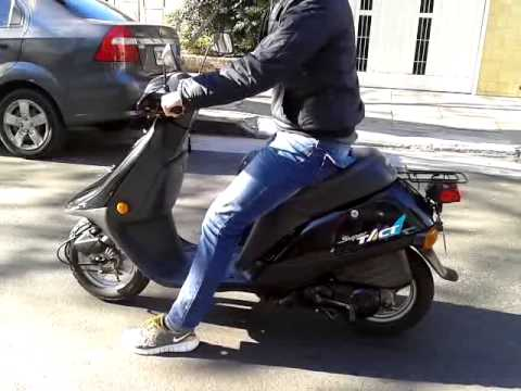 scooter japonesa 50cc honda super tact youtube. Black Bedroom Furniture Sets. Home Design Ideas