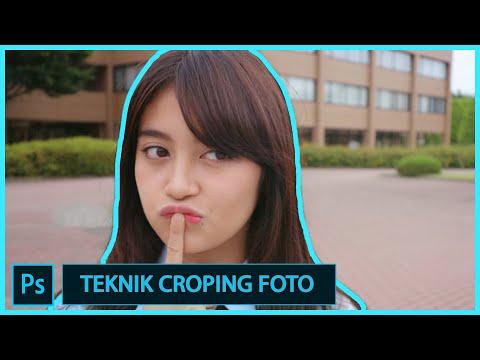 Teknik Memotong gambar Menggunakan Pen Tool..