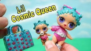 Babysitting Hatchimals ! Toys and Dolls Fun with LOL Surprise DIY Lil Cosmic Queen - Baby Doll Play