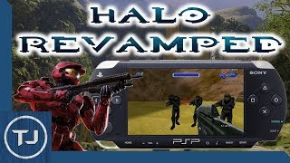PSP Halo Revamped! (Homebrew Game) [DOWNLOAD]