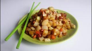 Жаренная картошка по-китайски