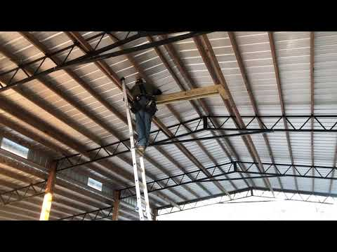 Chandelier Install | How high can Danny go?