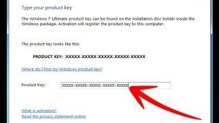 Windows 7 genuine product key force activation ,windows registry